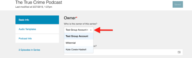 What account is my podcast published under? – PRX – Help Desk